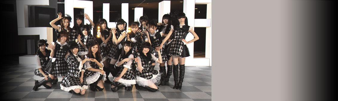 SNH48-黑白格子裙
