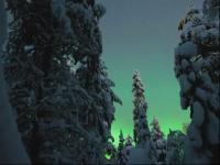 芬兰美伦美幻的极光